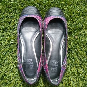 Coach plaid flats with sequins, 6